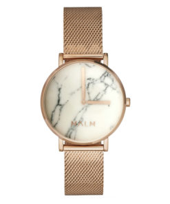 Malm Watches Diana roseguld vit